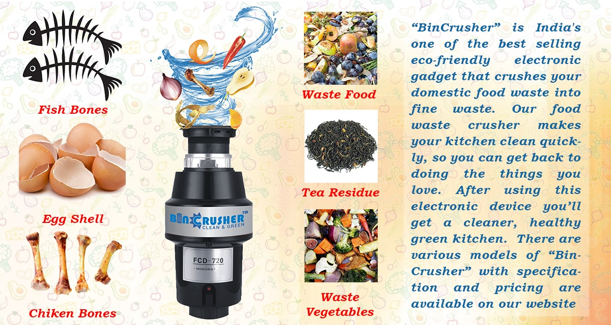THE BENEFITS OF USING FOOD WET WASTE CRUSHER